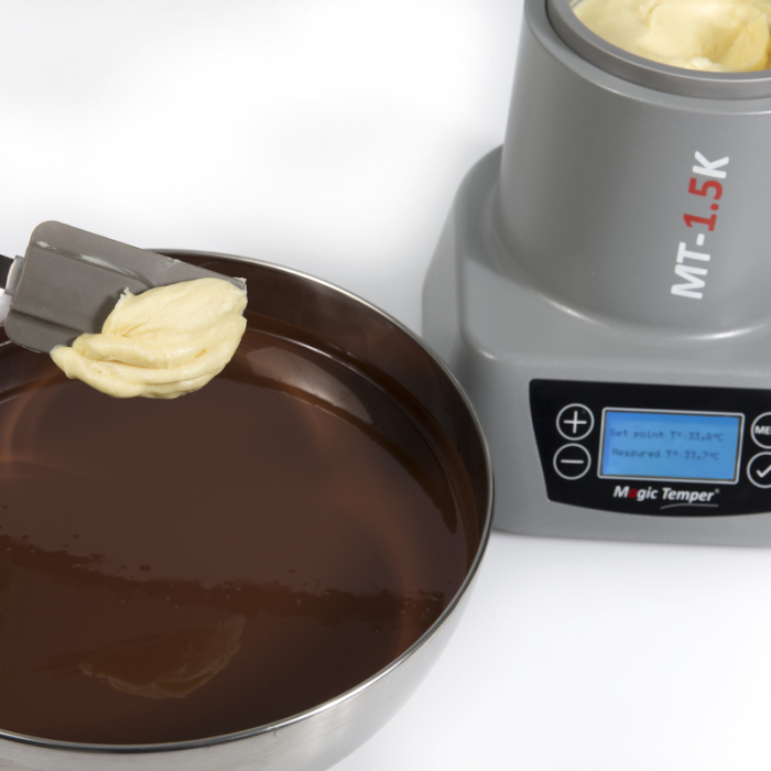 MAGIC TEMPER - tempering chocolate cocoa butter seeding Statice Tempering - Besançon