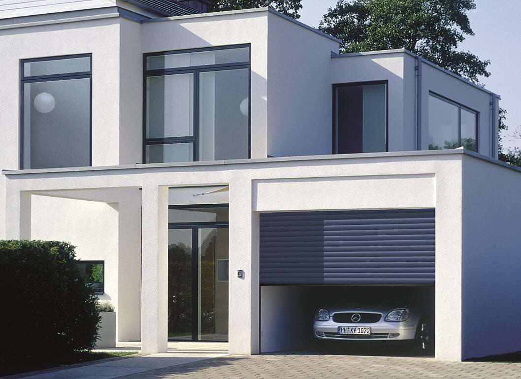 PORTES DE GARAGE ENROULABLES ROLLMATIC - Image N°6 Porte de garage enroulable ROLLMATIC coloris Gris Anthracite