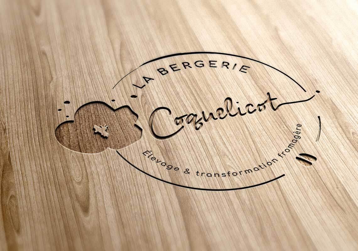 Logo La Bergerie Coquelicot