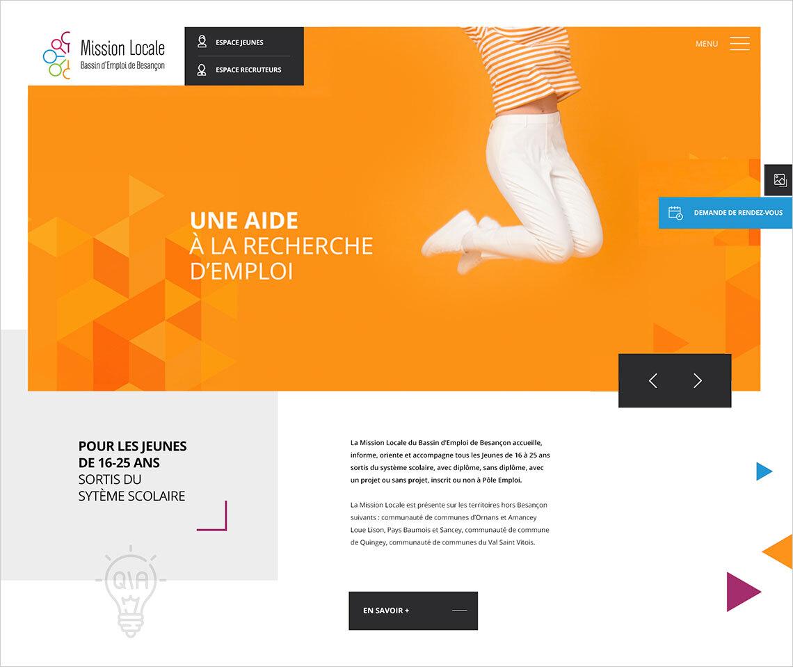 webdesign Mission Locale